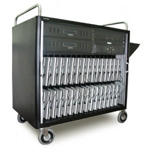 We offer a wide selection of Mobile Lab carts and crates, as well as charging options and accessories. Designed with input from tech coordinators and educators, Mobile Labs securely store and charge laptop computers, as well as power all your peripherals, from a single standard wall outlet.
