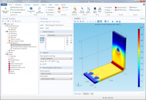 Busbar in COMSOL Multiphysics