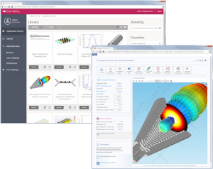 Corrugated horn app and COMSOL Server
